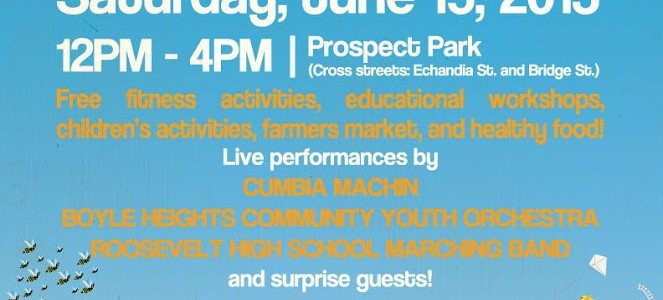 #PrimaveraFestival on June 15, 2013  in The City of Boyle Heights, CA