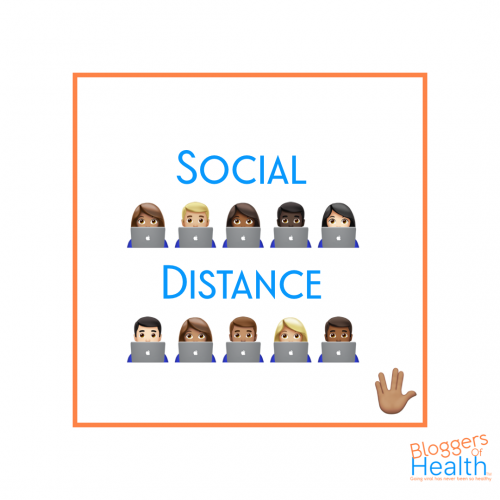 Social Distancing is like…
